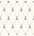 seamless flat pattern polka dot with vector image vector image
