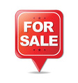 Sign For Sale vector image