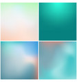 abstract colorful gradient mesh background set vector image