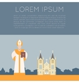 Catholic Church Banner vector image vector image