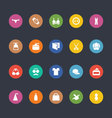 Glyphs Colored Icons 42 vector image vector image