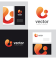 logo design element 22 vector image vector image
