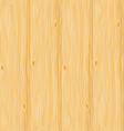 Realistic pale wooden seamless texture vector image vector image