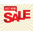 sale sign vector image vector image