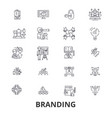 branding marketing advertising creative idea vector image