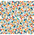 Abstract triangle background vector image vector image
