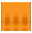 Comics Color Halftone Background graphic effects vector image vector image