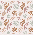 matisse inspired seamless pattern abstract cut vector image vector image