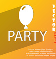 Party icon symbol Flat modern web design with long vector image