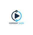 share video logo icon design vector image vector image