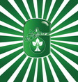 green dd vector image
