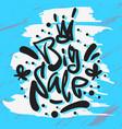 big sale hand drawn artistic custom brush vector image vector image