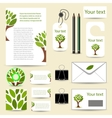 business template vector image vector image