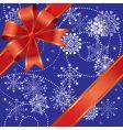 Christmas gift seamless vector image vector image
