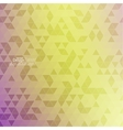 Creative abstract triangle pattern Polygonal vector image