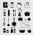 houseware set vector image