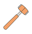 meat tenderizer icon vector image