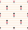 queen guardsman cute seamless striped vector image vector image