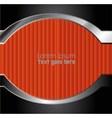 Orange black background overlap dimension vector image