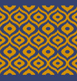 tribal seamless pattern hand drawn vector image