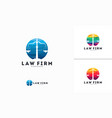 abstract circle law firm logo designs balance