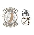 Archery logo vector image