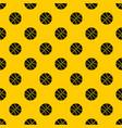 basketball ball pattern vector image vector image
