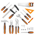 diy tools set vector image