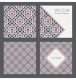 Geometric Patterns vector image vector image