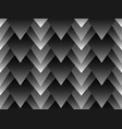 geometric seamless pattern with layered triangles vector image