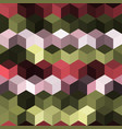 hexagon grid seamless background vector image