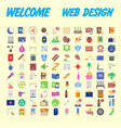 icon pack for designers and developers icons for vector image