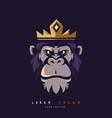 king kong mascot vector image vector image