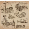 Lithuania Pictures of Life pack vector image vector image
