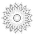 mandala colorful background vector image vector image