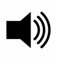 sound icon vector image vector image