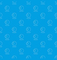 webcam pattern seamless blue vector image