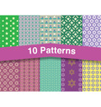 chic patterns vector image