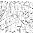 abstract black and white pencil sketch background vector image vector image