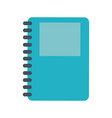 address book symbol vector image vector image