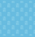 checklist blue linear seamless pattern or vector image