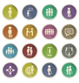 Community simply icons vector image vector image