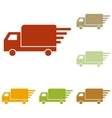 Delivery sign vector image vector image