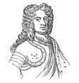 duke of marlborough vintage vector image vector image