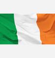 flag republic ireland vector image