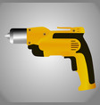 hand drill icon vector image vector image