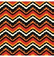 Orange Ethnic Pattern vector image vector image