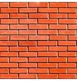Red Seamless Brickwall vector image vector image
