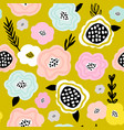 seamless floral pattern creative floral texture vector image vector image