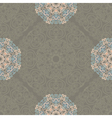 Seamless pattern with abstract elements damask vector image